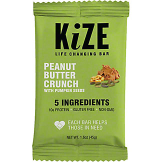 Kize Raw Energy Bar Pumpkin Seed,1.6 OZ