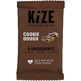 Kize Raw Energy Bar Cookie Dough,1.5 OZ