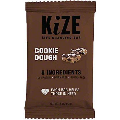 Kize Raw Energy Bar Cookie Dough,1.5 OZ
