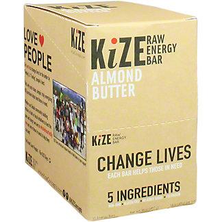 Kize Raw Energy Bar Almond Butter, 10 pk