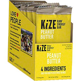 Kize Peanut Butter Bar, 10 pk