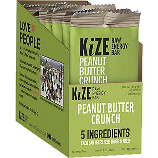 Kize Peanut Butter Crunch with Pumpkin Seed Bar, 10 pk