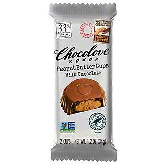 Chocolove Peanut Butter Cups Milk Chocolate,1.2OZ