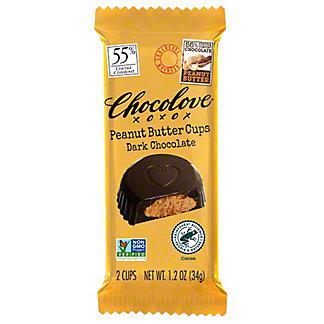 Chocolove Peanut Butter Cups Dark Chocolate,1.2OZ