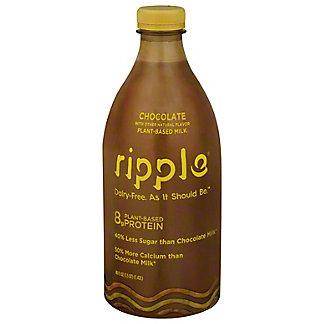 Ripple Ripple Dairy Free Chocolate Milk,48 oz