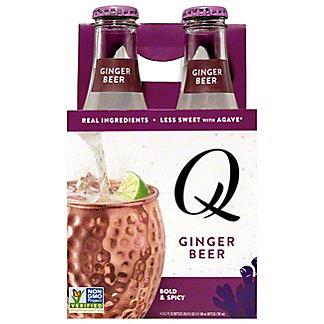 Q Drinks Ginger Beer,4 pk