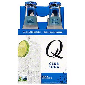 Q Drinks Club Soda,4 ct
