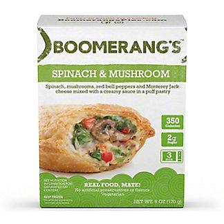 Boomerang's Spinach & Mushroom Pie, 6 oz