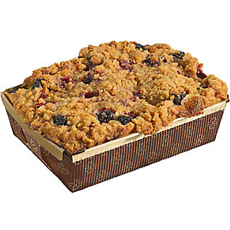 Central Market Peach Blackberry Coffee Cake, 21 oz