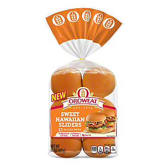 Oroweat Sweet Hawaiian Sliders,15 oz