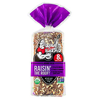 Daves Killer Bread Raisin The Roof, 18 oz