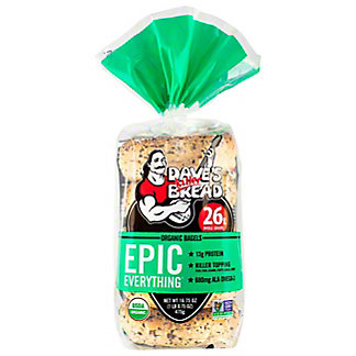 Daves Killer Bread Epic Everything Bagel, 16.75 oz