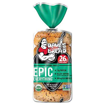 Daves Killer Bread Epic Everything Bagel, 16.75 oz