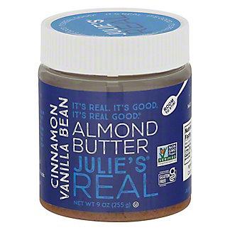 Julies Real Cinnamon Vanilla Bean Almond Butter,9OZ