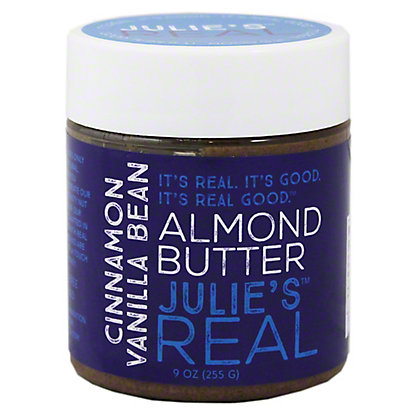 Julies Real Cinnamon Vanilla Bean Almond Butter,9OZ