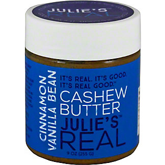 Julie's Real Cinnamon Vanilla Bean Cashew Butter, 9 oz