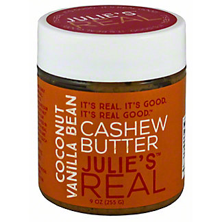 Julie's Real Coconut Vanilla Bean Cashew Butter, 9 oz