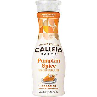 Califia Farms Pumpkin Spice Almondmilk Creamer, 25.4 oz