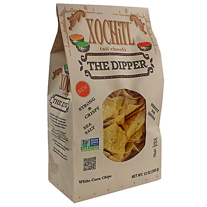 Xochitl Salted Dipping Tortilla Chips, 12 OZ
