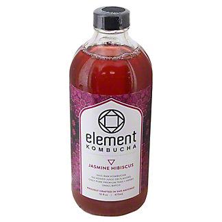 Element Jasmine Hibiscus Kombucha, 16 oz