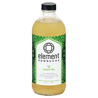 Element Green Tea Kombucha, 16 oz
