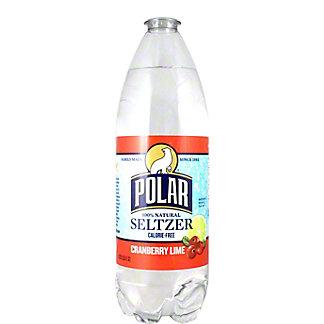 Polar Cranberry Lime Seltzer Water, 33.80 oz