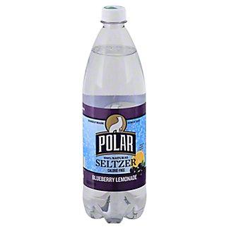 Polar Blueberry Lemon Seltzer Water, 33.8 oz