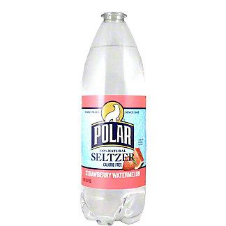 Polar Strawberry Watermelon Seltzer Water,1LT