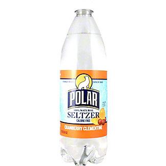 Polar Polar Cranberry Clementine Seltzer Water,1LT