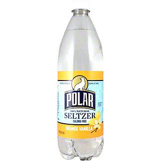 Polar Orange Vanilla Seltzer Water, 1 Lt