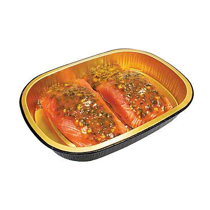 H-E-B Meal Simple Mango Cilantro Atlantic Salmon Portions, 2 ct