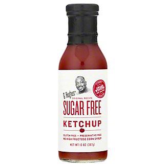 G Hughes Smokehouse Sugar Free Ketchup, 13 oz