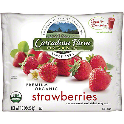 Cascadian Farm Organic Organic Whole Strawberry, 10 oz