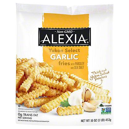 Alexia Yukon Select Garlic Fries, 16 oz