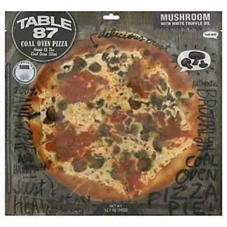 Table 87 Pizza Mushroom White Truffle Pie, 9.8OZ