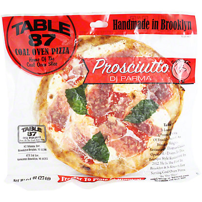 Table 87 Pizza Proscuitto Pie, 9.7OZ