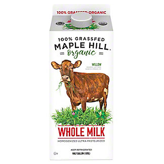 Maple Hill Creamery Maple Hill Creamery Organic 100% Grassfed Whole Milk, 64 oz