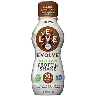 Evolve RTD Protein Shake Classic Chocolate, 12 oz