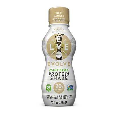 Evolve Protein Shake Ideal Vanilla, 12 oz