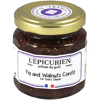 L Epicurien Fig and Walnuts Confit, 4.38 oz