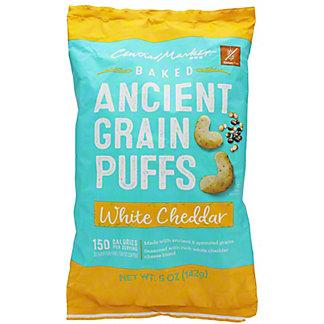 Central Market Ancient Grains White Cheddar Puffs, 5 oz
