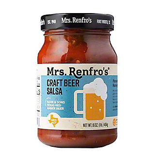 Mrs Renfros Craft Beer Salsa,16 OZ