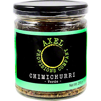 Axel Provisions Verde Chimichurri Sauce,9OZ