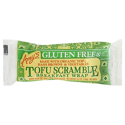 Amys Wrap GF Breakfast Tofu Scramble, 5.5 oz