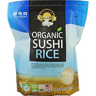 Han Kuk Mi Organic Sushi Rice, 3 lb