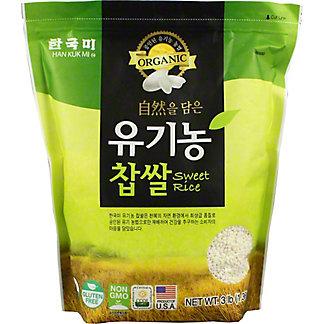 Han Kuk Mi Organic Sweet Rice, 3 lb