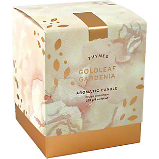 THYMES Gold Gardenia Candle, 9 oz