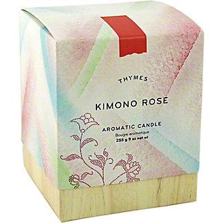 THYMES Kimono Rose Candle, 9 oz