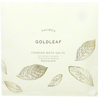 Thymes Goldleaf Bath Salts Envelope, 2 oz