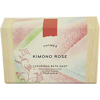 Thymes Kimono Rose Bar Soap, 6 OZ